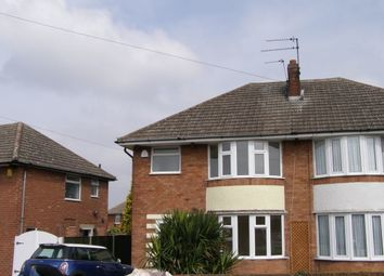 Thumbnail 3 bed semi-detached house to rent in Foxhunter Drive, Oadby, Leicester