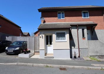 Thumbnail 1 bed semi-detached house for sale in Douglass Road, Plymouth
