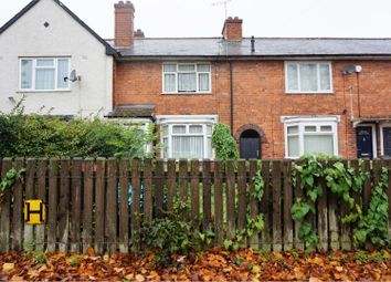 Thumbnail 3 bed terraced house for sale in Springcroft Road, Birmingham