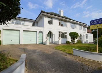 Thumbnail 4 bed semi-detached house for sale in Milne Field, Pinner