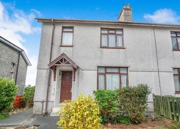Thumbnail 3 bed semi-detached house for sale in Penlon Gardens, Bangor, Gwynedd