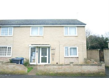 Thumbnail 4 bedroom end terrace house for sale in Sandwich Close, Huntingdon