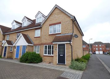 Thumbnail 2 bed end terrace house for sale in Dorsey Drive, Bedford
