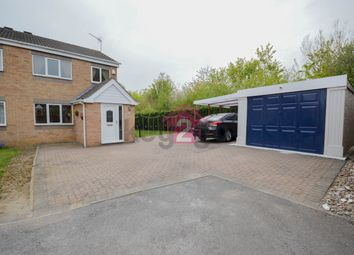 Thumbnail 3 bed semi-detached house for sale in Bramshill Close, Sothall, Sheffield