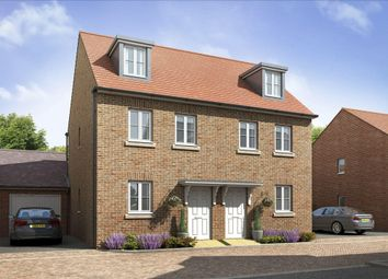 "Thumbnail 3 bedroom terraced house for sale in ""Kirkwood"" at Locksbridge Road, Picket Piece, Andover"
