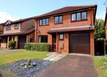 Thumbnail 4 bed detached house for sale in Dexter Close, Luton, Bedfordshire