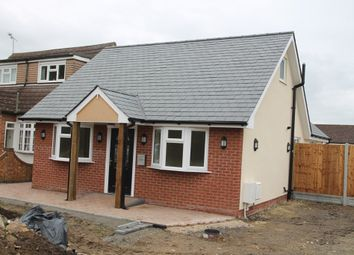 Thumbnail 2 bed detached bungalow for sale in Pound Lane, Pitsea, Basildon