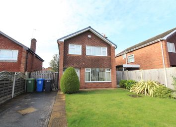 Thumbnail 3 bed detached house for sale in Aspley Close, Brockwell, Chesterfield
