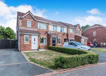 Thumbnail 3 bed semi-detached house for sale in Dunnock Lane, Cottam, Preston