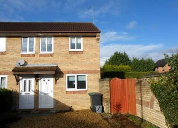 Thumbnail 2 bedroom end terrace house to rent in Caldbeck Close, Gunthorpe, Peterborough