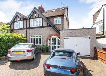 Thumbnail 4 bedroom semi-detached house for sale in Bridge Gardens, East Molesey