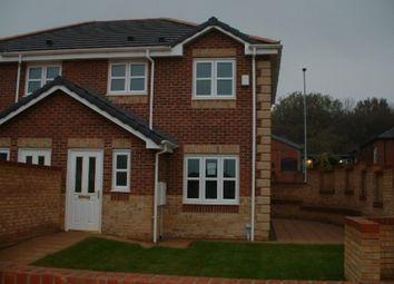 Thumbnail 3 bed semi-detached house to rent in Queens Close, Great Preston, Leeds