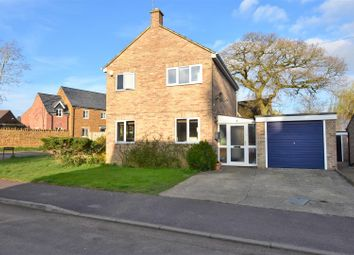 Thumbnail 3 bed detached house for sale in Heath Close, Milcombe, Banbury