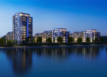 Thumbnail 1 bed flat for sale in Meridian Waterside, Southampton