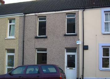 Thumbnail 3 bed terraced house to rent in Watkin Street, Mount Pleasant, Swansea.