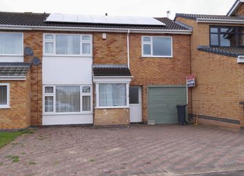 Thumbnail 4 bed semi-detached house for sale in Kilmelford Close, Leicester