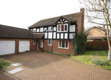 Thumbnail 5 bedroom detached house to rent in Fletcher Gardens, Binfield, Bracknell