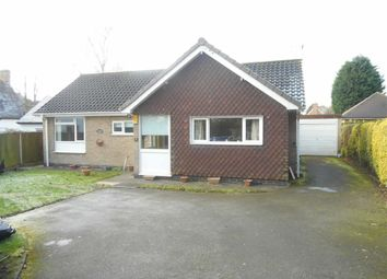 Thumbnail 3 bed bungalow to rent in Church Lane, Breadsall, Derby