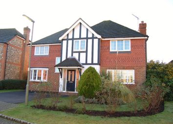 Thumbnail 4 bed detached house to rent in Heywood Drive, Bagshot