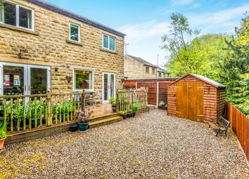 Thumbnail 3 bed end terrace house for sale in Weavers Court, Meltham, Holmfirth