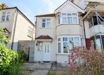 Thumbnail 3 bed end terrace house to rent in Thirlmere Avenue, Perivale, Greenford, Greater London