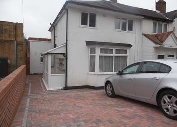 Thumbnail 3 bed semi-detached house to rent in Bristol Road South, Rednal, Birmingham