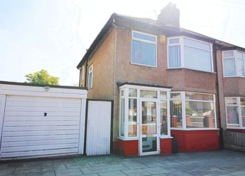 Thumbnail 3 bed semi-detached house for sale in Ingleholme Road, Grassendale, Liverpool