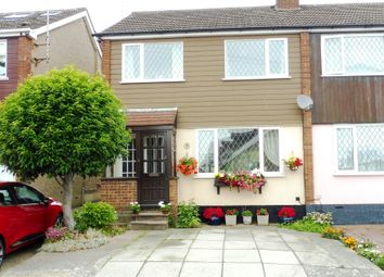 Thumbnail 3 bed semi-detached house for sale in The Oaks, Billericay