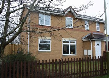 Thumbnail 2 bed semi-detached house for sale in Alcott Close, Western Park, Leicester