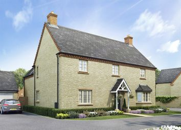 "Thumbnail 4 bed detached house for sale in ""The Longleet"" at Towcester Road, Old Stratford, Milton Keynes"
