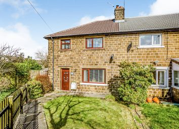 Thumbnail 3 bed end terrace house for sale in The Lodge, Linthwaite, Huddersfield, West Yorkshire