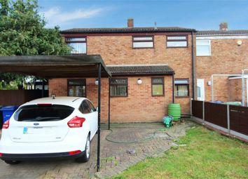 Thumbnail 3 bed end terrace house for sale in Austen Close, Tilbury, Essex