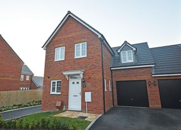 Thumbnail 3 bed link-detached house for sale in Pattens Close, Whittlesey, Peterborough