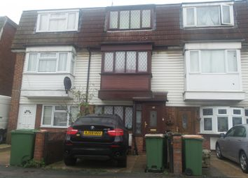 Thumbnail 4 bed terraced house to rent in Young Road, Custom House, Canning Town, London