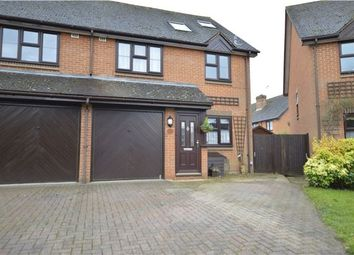 Thumbnail 4 bed semi-detached house for sale in Gorse Drive, Smallfield, Horley