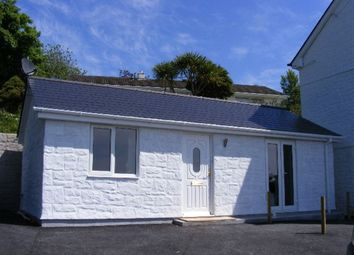 Thumbnail 1 bed bungalow to rent in Vicarage Hill, Mevagissey, St. Austell