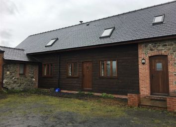 Thumbnail 3 bedroom barn conversion to rent in Pen Y Pentre Barn, Llangyniew, Welshpool, Powys