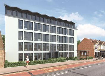 Thumbnail 2 bed flat for sale in Burlington Road, New Malden