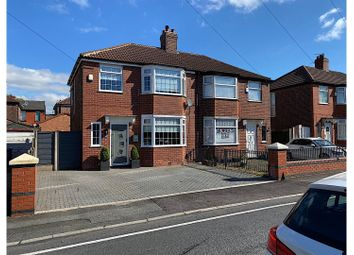 Thumbnail 3 bed semi-detached house for sale in Newhaven Avenue, Manchester