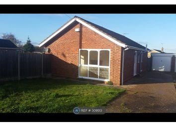 Thumbnail 2 bed bungalow to rent in Beech Road, Branston, Lincoln