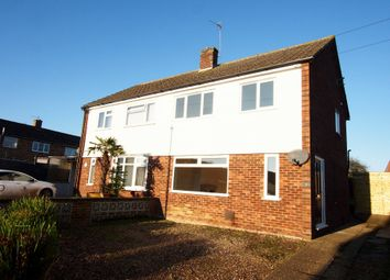 Thumbnail 3 bedroom semi-detached house to rent in Bellrope Lane, Wymondham, Norfolk