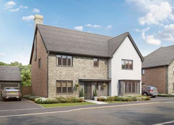 Thumbnail 4 bed detached house for sale in The Adderbury, Plot 154, Lakeview, Colwell Green, Witney, Oxon
