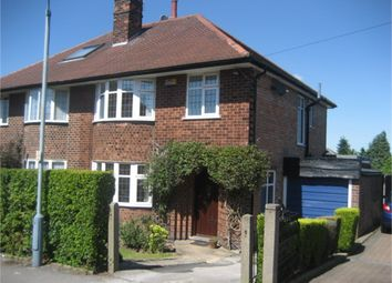Thumbnail 3 bed semi-detached house to rent in Greys Road, Woodthorpe, Nottingham