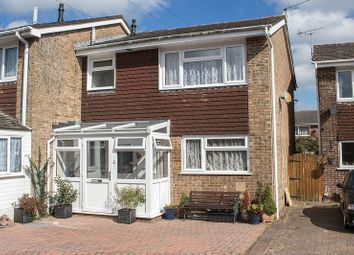 Thumbnail 3 bed end terrace house for sale in Bowater Close, Calmore, Southampton