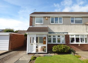 Thumbnail 3 bed semi-detached house for sale in Barnston, Ashington