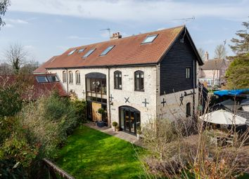 Thumbnail 4 bed barn conversion for sale in Waterside, Isleham, Ely