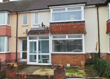 Thumbnail 3 bed terraced house to rent in Geoffrey Crescent, Fareham