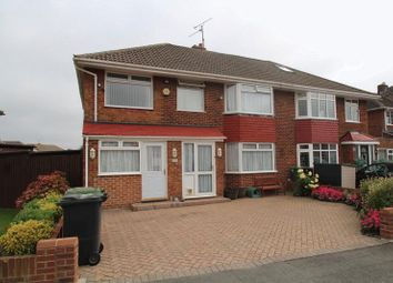 Thumbnail 4 bed semi-detached house for sale in Birchwood Road, Lower Stratton, Swindon
