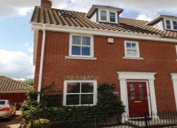 Thumbnail 3 bedroom property to rent in Griston Road, Watton, Thetford