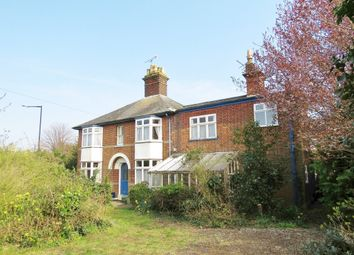 Thumbnail 3 bedroom semi-detached house for sale in West Road, Bury St. Edmunds